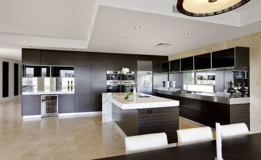 Delightful alluring cozy kitchen design ideas home Contemporary open plan kitchen