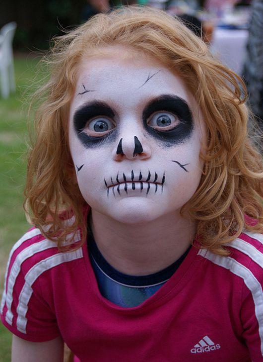 Halloween Zombie Schmink.Scary Skull Halloween 2017 Halloween Schmink Kind
