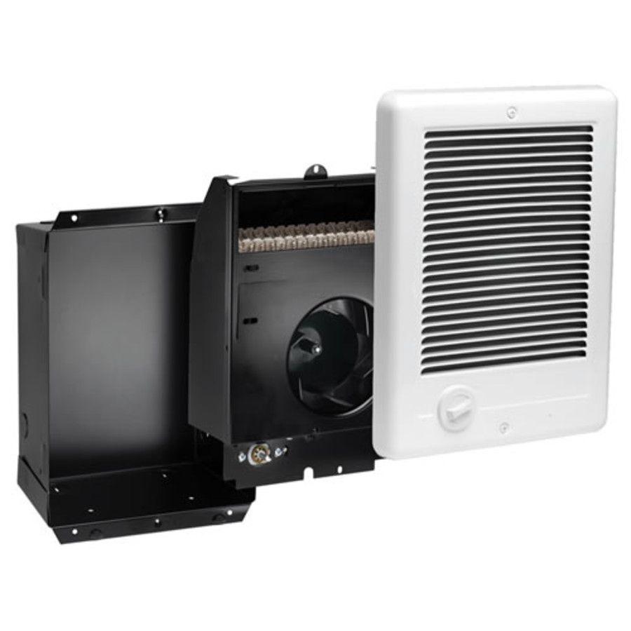 Cadet Csc151tw Com Pak Plus 1500 Watt 120v Wall Fan Heater Primary Image Electric Heater Wall Mounted Heater Heater