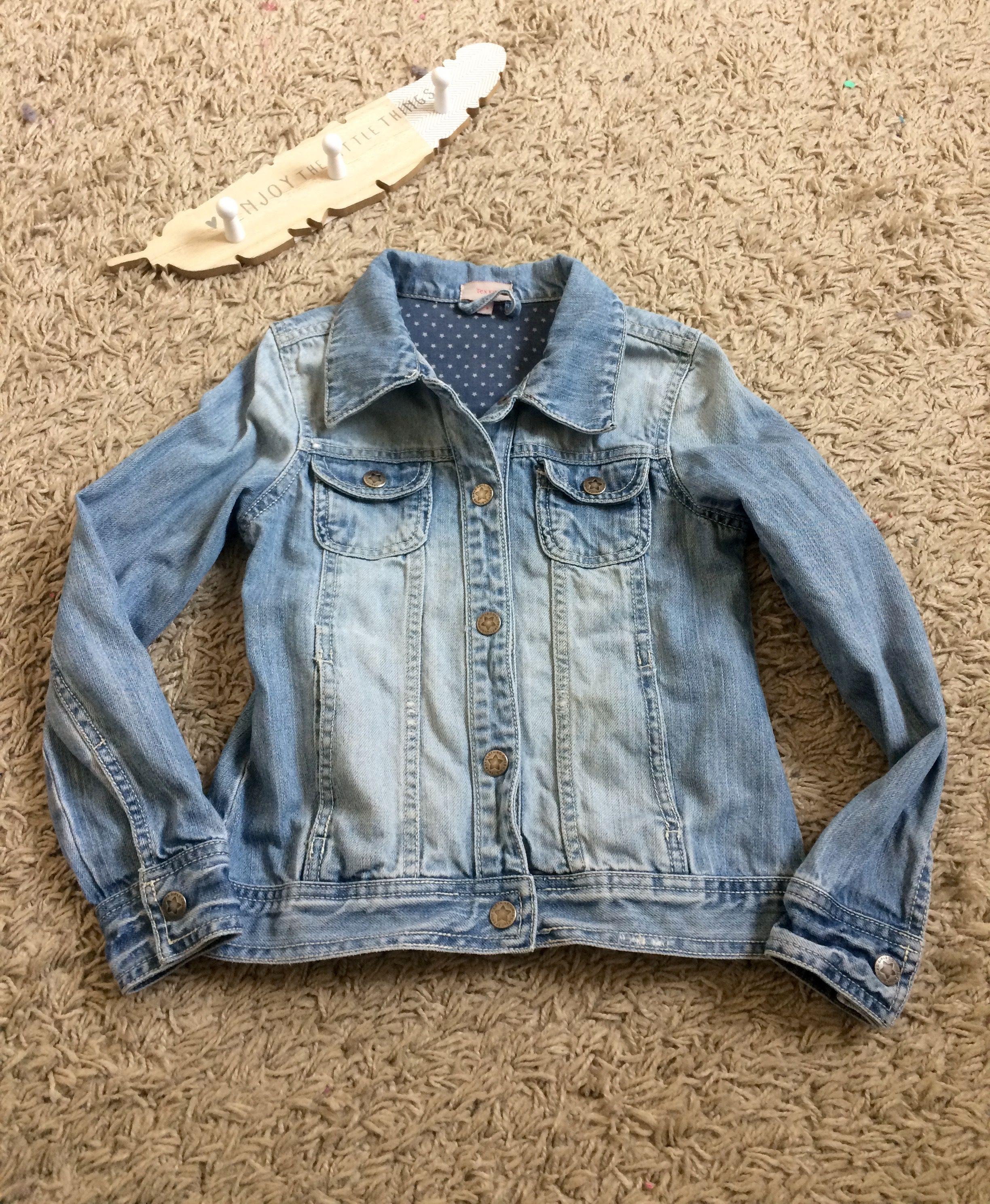 43481b6052ec6 Veste en jeans 8 ans pour fille #tex #texkids | Shop Emeraude by Mya ...