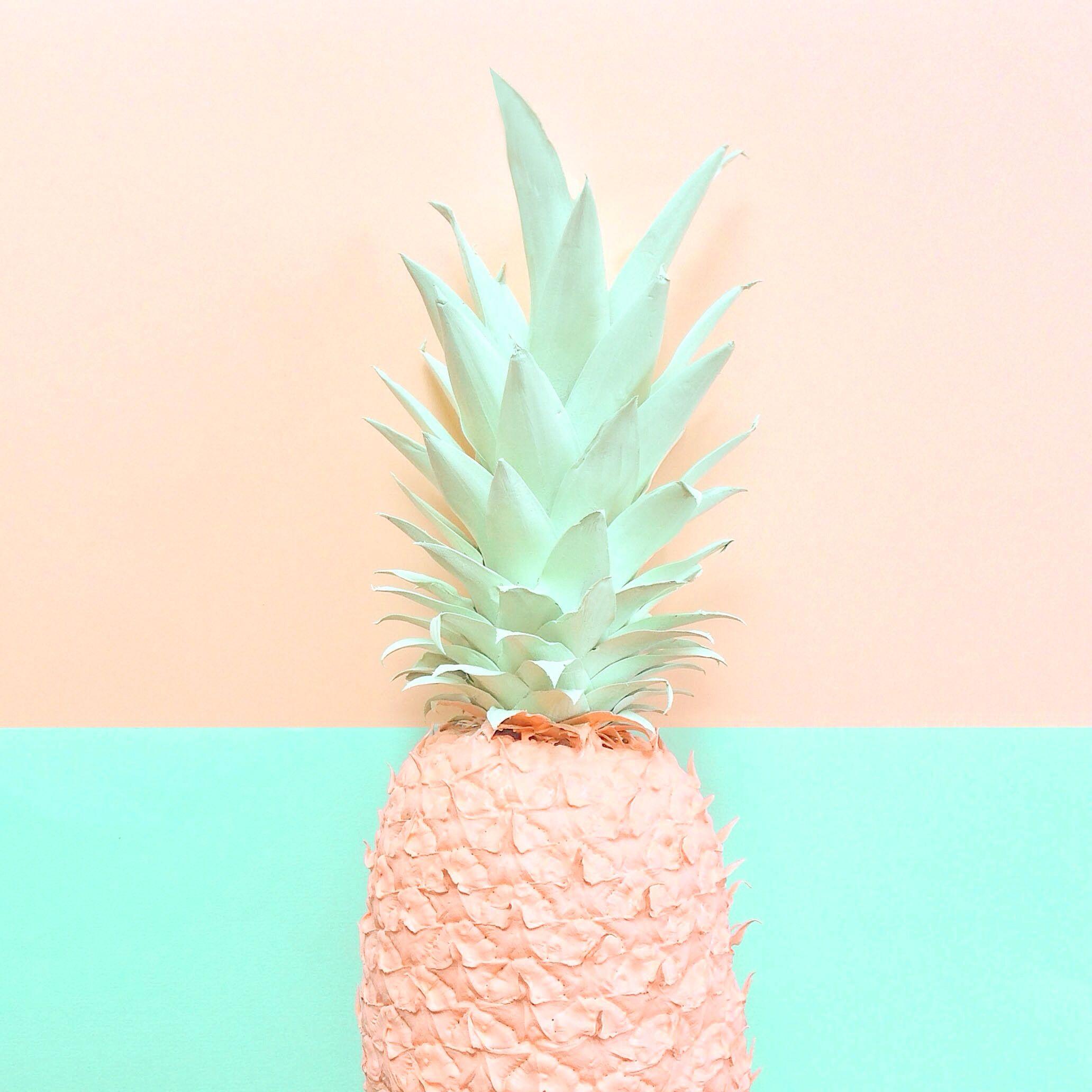 Ananas couleurs pinterest cran couleurs et pastel for Fond ecran ananas