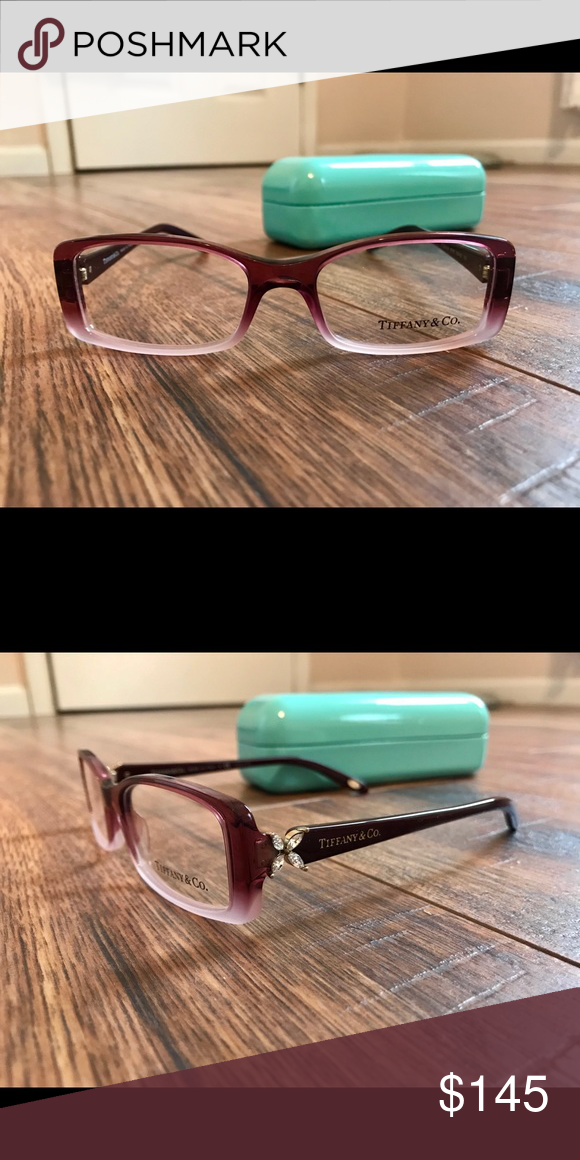 9a67f1ed1c1  NEW  Tiffany   Co. eye glasses Never been used Tiffany   co. eye glasses  with original hard case. (Colors look as in photos) Tiffany   Co.