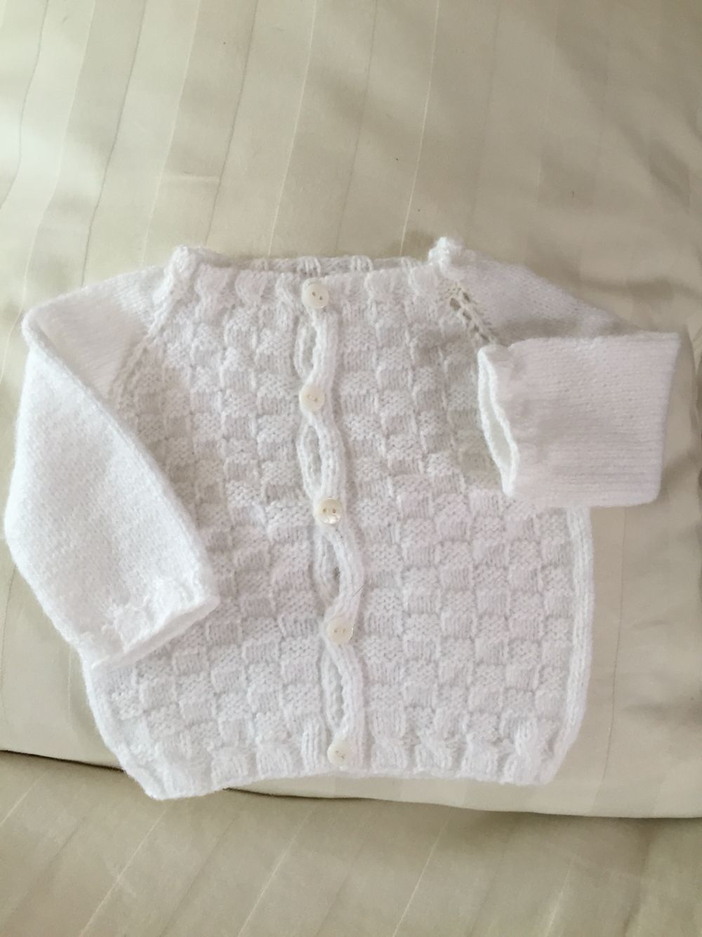 Chambrita blanca para bebe