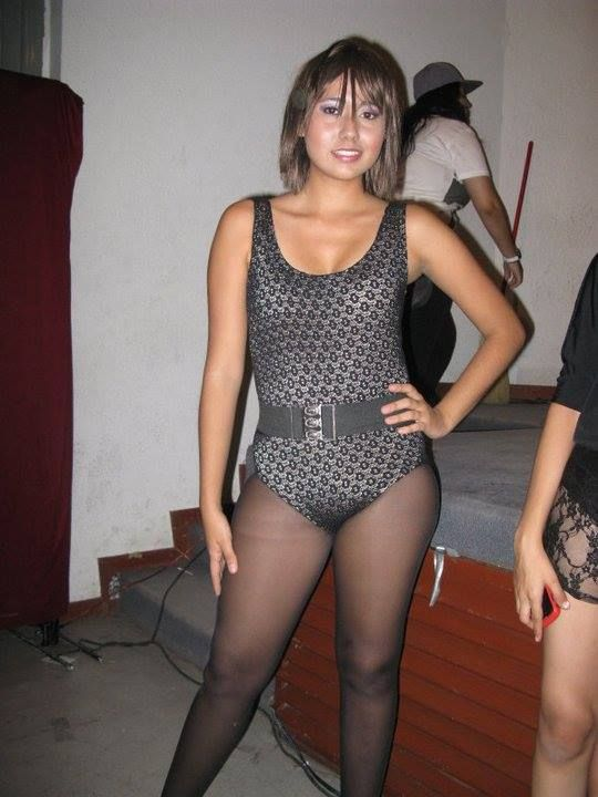 Leotard and tights fetish