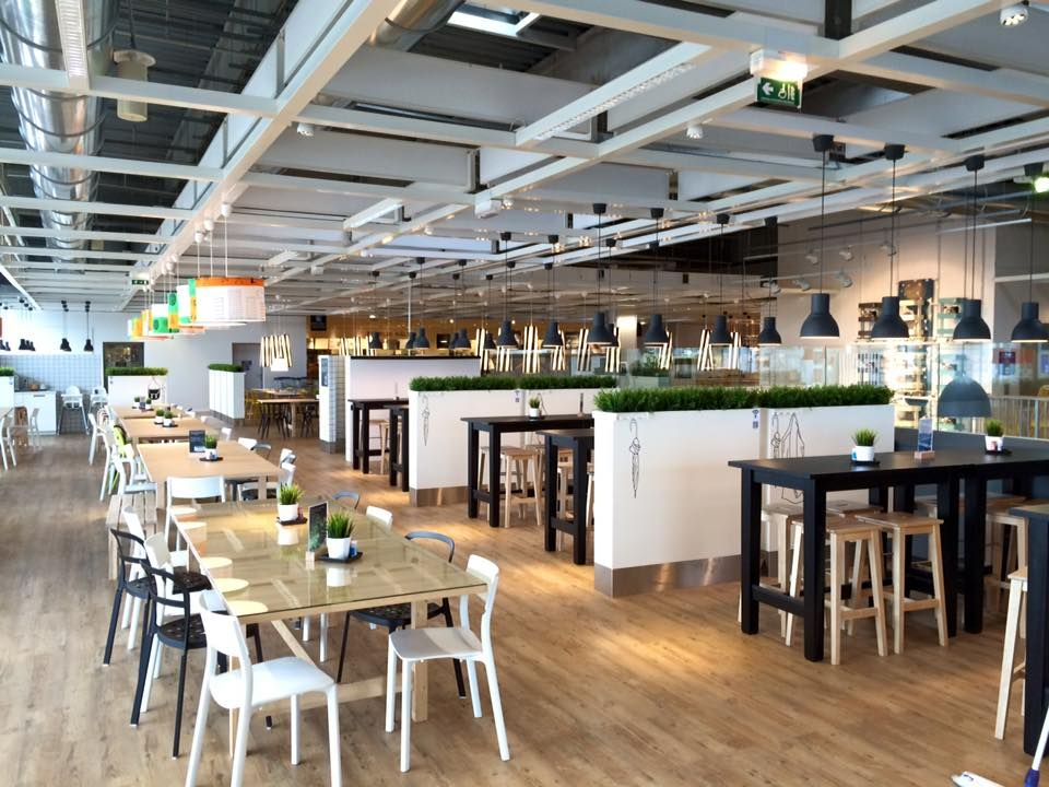 Ikea rennes rebuilding of customer restaurant area autumn