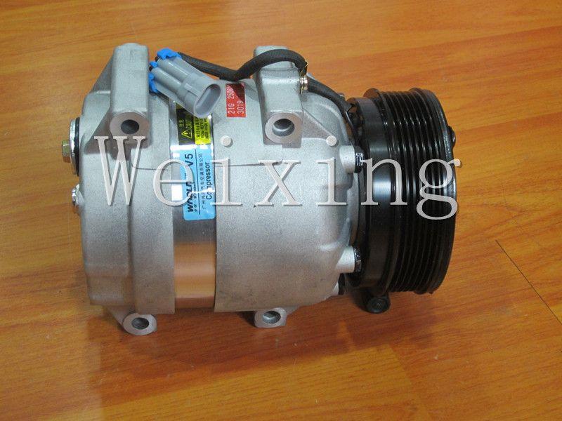 Auto air conditioning compressor v5 for mercedesbenz