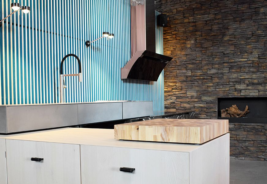Küchengriff aus Leder - Milano Prestige #lederschlaufe #ledergriff ...