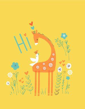 happy-giraffe LIZZIE MACKAY