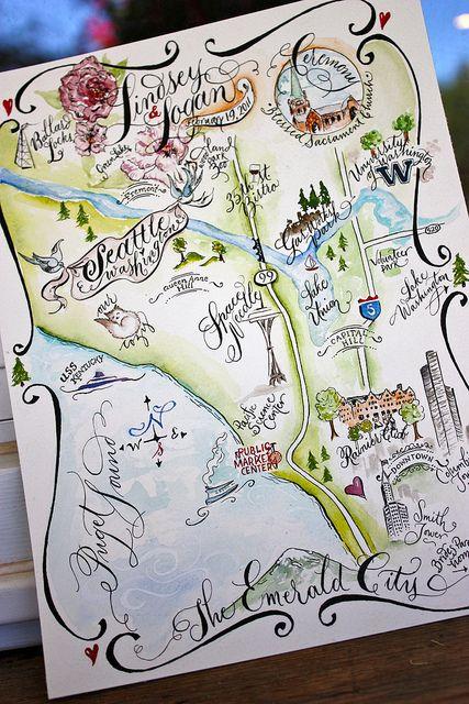 Nice Map Of Seattle Washington Seattle Map Detailed Map Seattle Neighborhoods