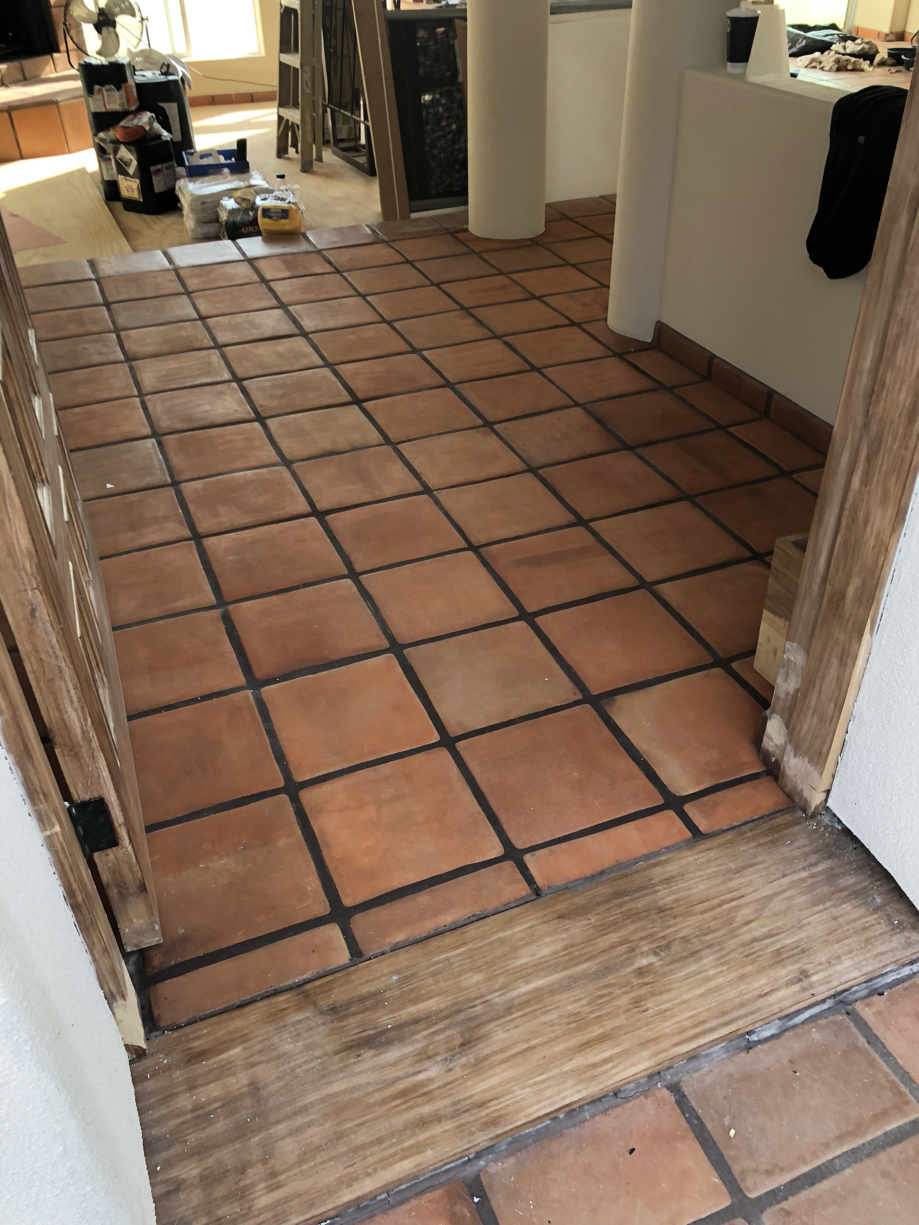 Restoring Terracotta Tecate Paver Tiles Spanish Style Homes Pueblo Style House Spanish Style