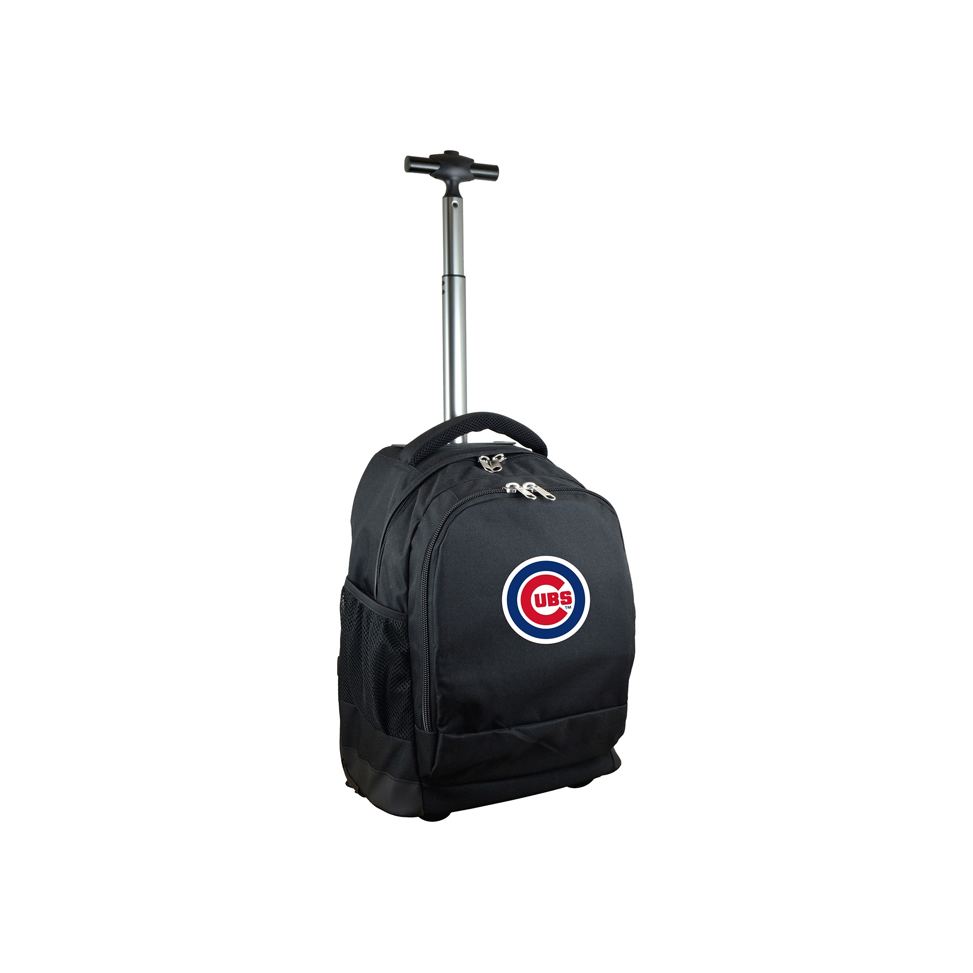 865948354b MLB Chicago Cubs Premium Wheeled Backpack - Black