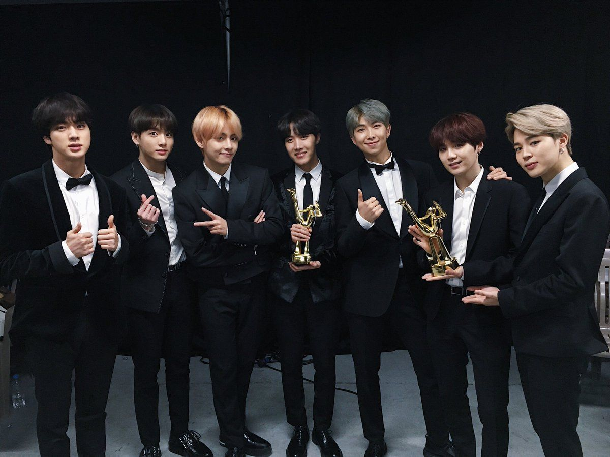 Bts Posted On Twitter Thanks To Our Top Best Army We Received The