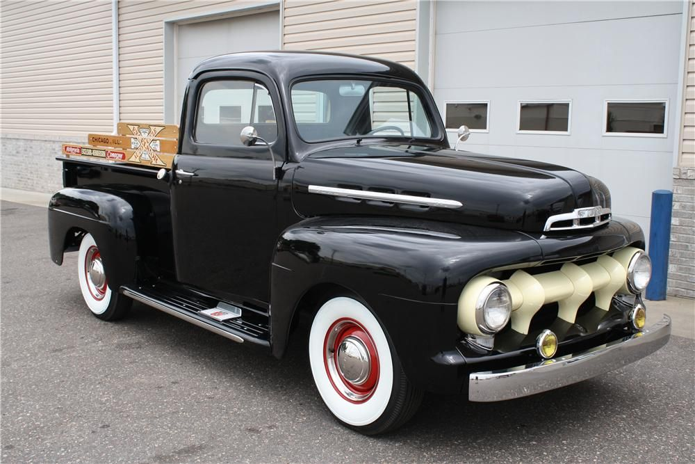 1951 Ford F 1 With Images Classic Trucks Pickup Trucks Old