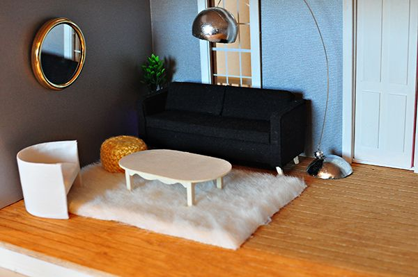 homemade dolls house furniture. The Cheese Thief: A Little Dollhouse Update (DIY And New Furniture ) Homemade Dolls House