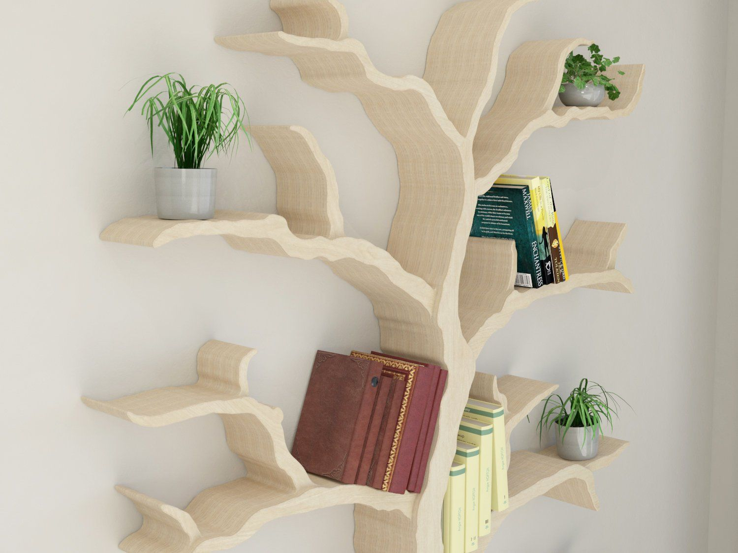 new product | the cotswold elm tree bookcase | tree shelf | tree