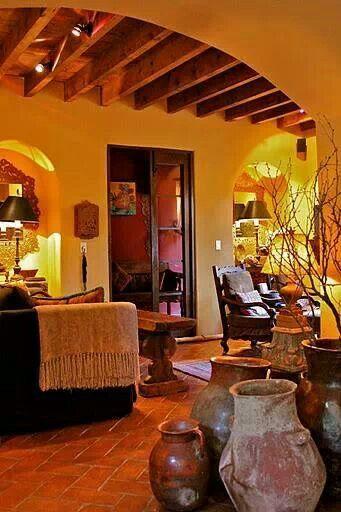 Pin de melena crvts en mexican decoration pinterest for Casa mexicana muebles