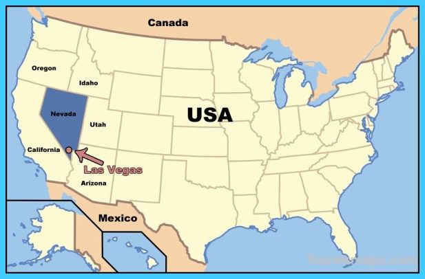 Awesome Map Of North Las Vegas Nevada Travelsmaps Pinterest