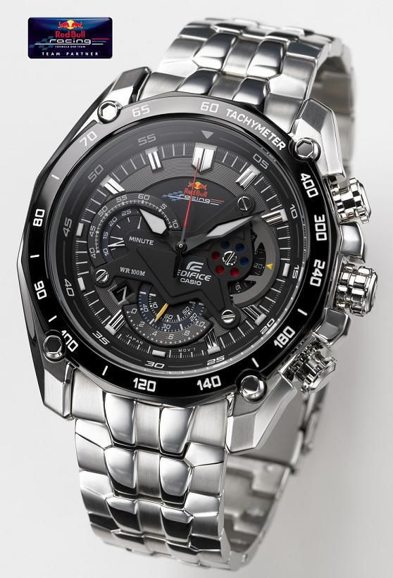 19770447d3a Casio Edifice - Red Bull - EF-550RB