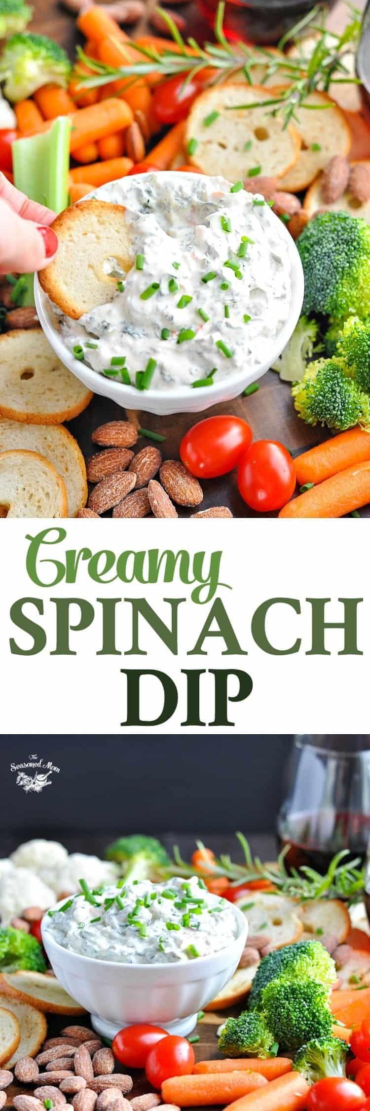 5ingredient spinach dip recipe diy food recipes diy