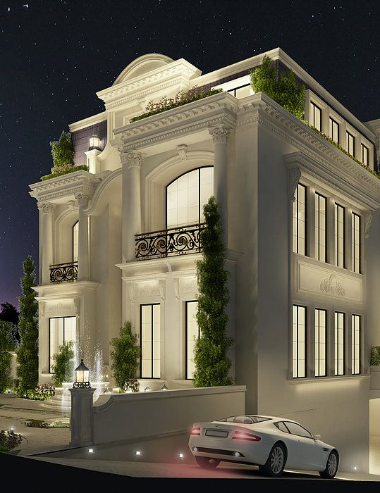 Luxury architecture design qatar doha by ions for Modern home decor dubai