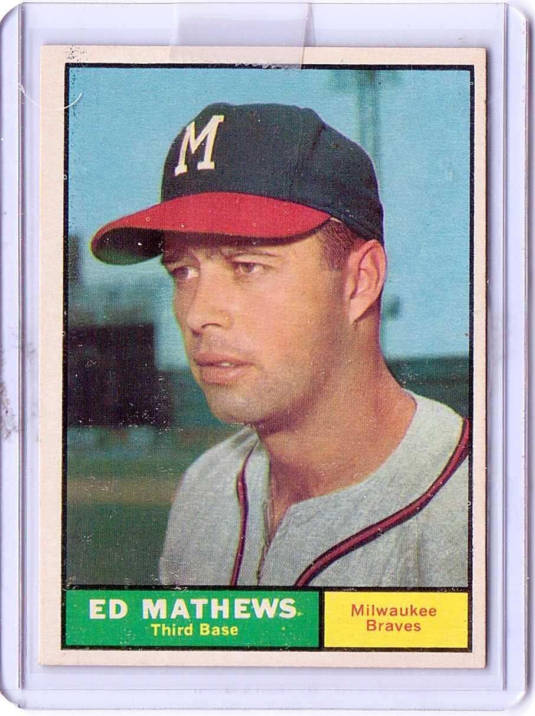 TOPPS 1961 near mint condition Baseball, Baseball card