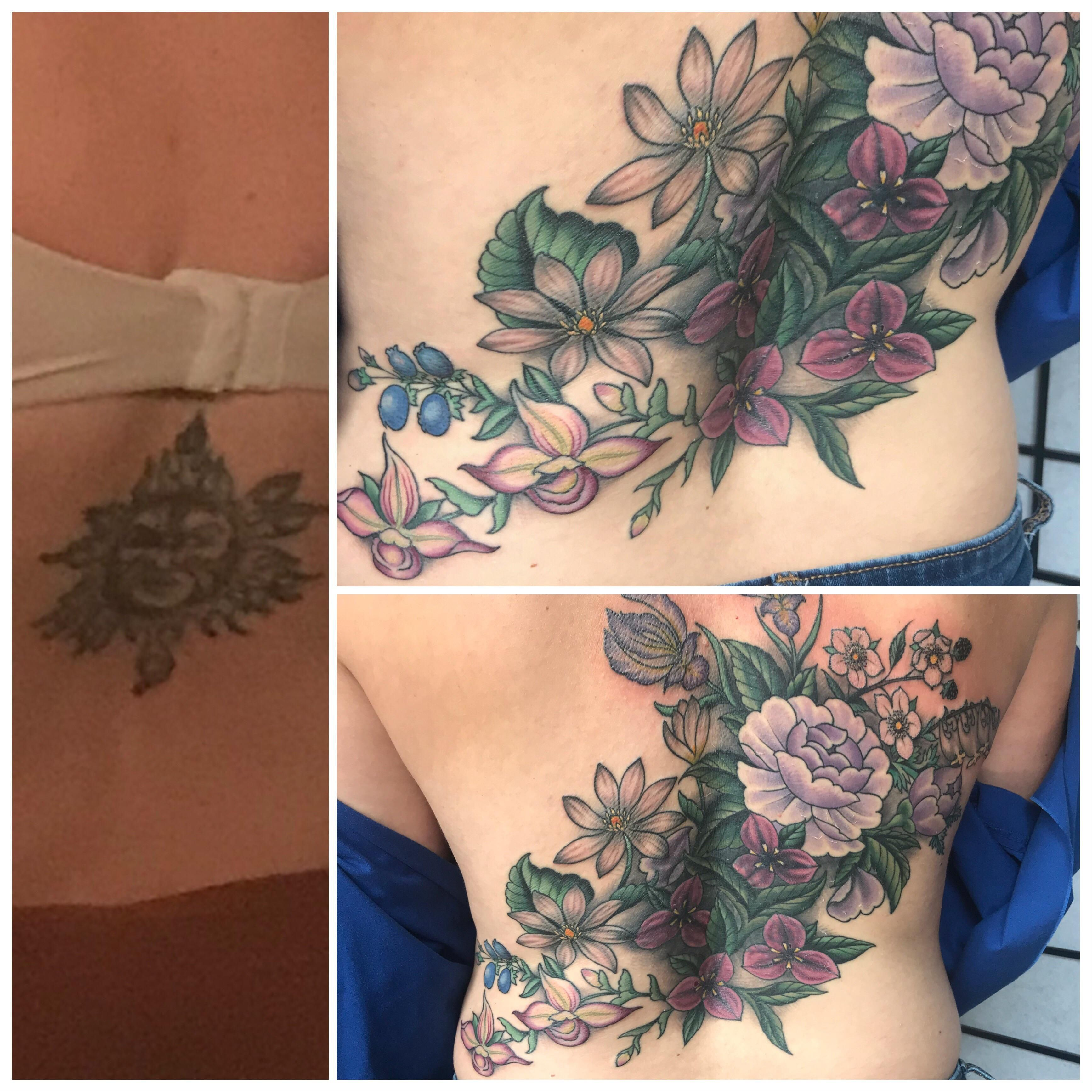 Finished a coverup with Nicholas Tidler at Purple Heart