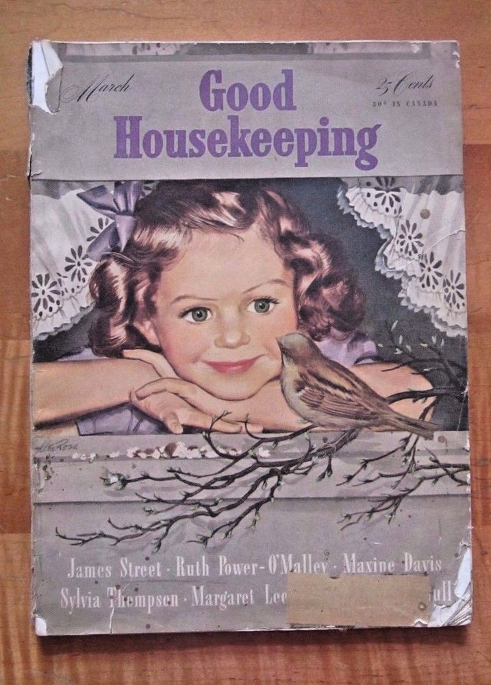 Good Housekeeping March,1943 old advertising vintage magazine WWII ...