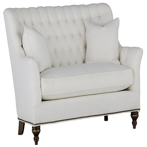 Fabulous Gabby Home Sch 619 154 Abbey Cream Tufted Back Loveseat Bralicious Painted Fabric Chair Ideas Braliciousco