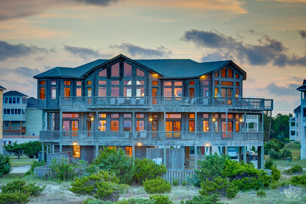 Outerbanks Beach House Rentals House Plan 2017