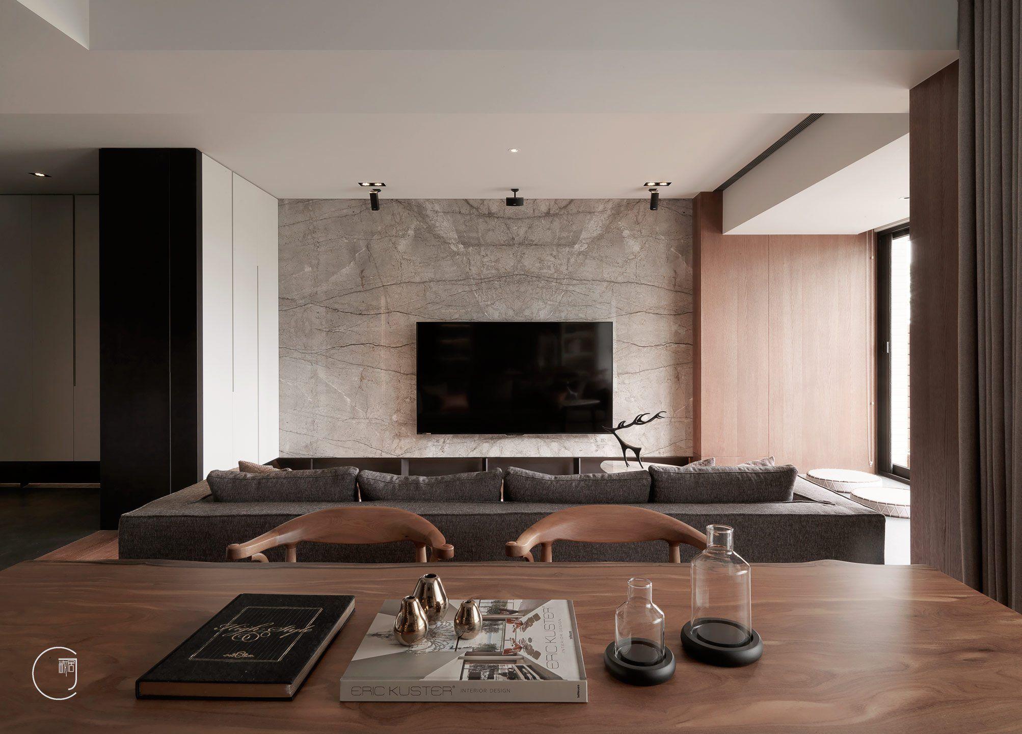 敞居空間設計-作品列表   Гостиная, Sectional couch