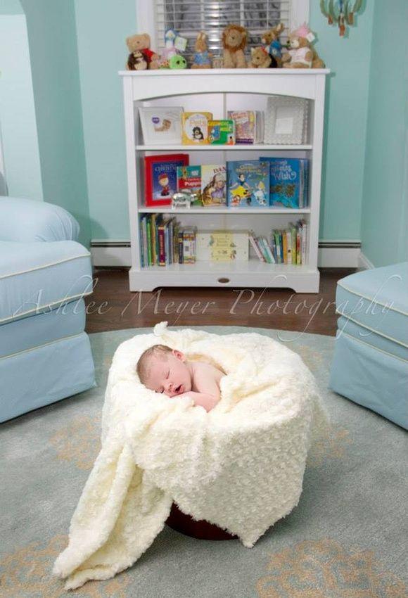 Newborn baby girl, Madison.