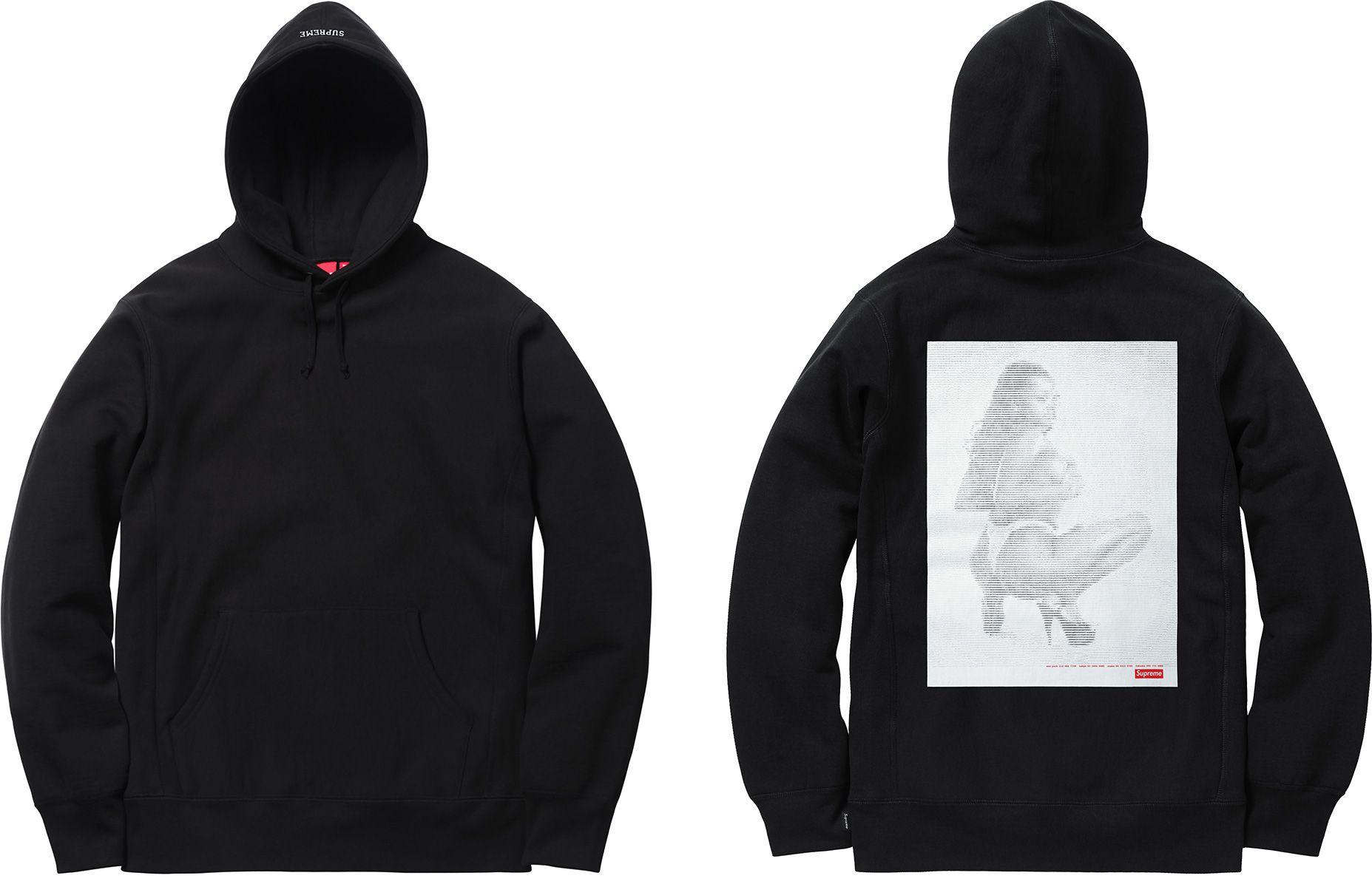 Supreme Thrills Hooded Sweatshirt Hooded Sweatshirts Supreme Clothing Sweatshirts [ 1200 x 1855 Pixel ]