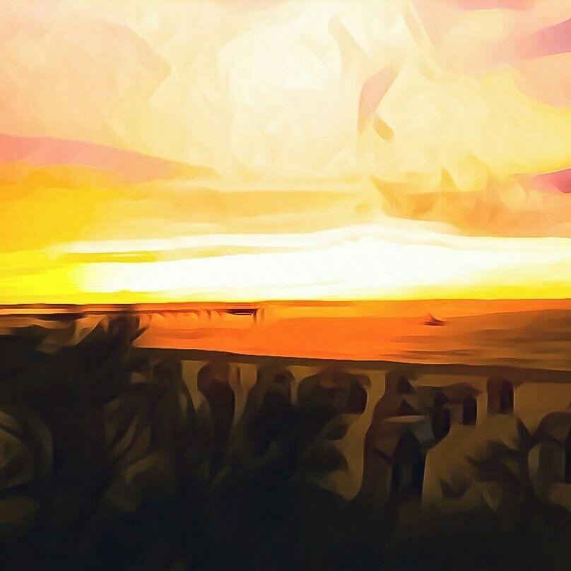 Strandkorb sonnenuntergang  timmenlove #timmendorferstrand #strand #ostsee #meer #balticsea ...