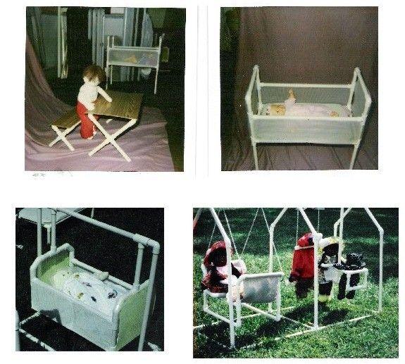 Pinterest Jungle Buildings: Pvc Pipe Doll Furniture