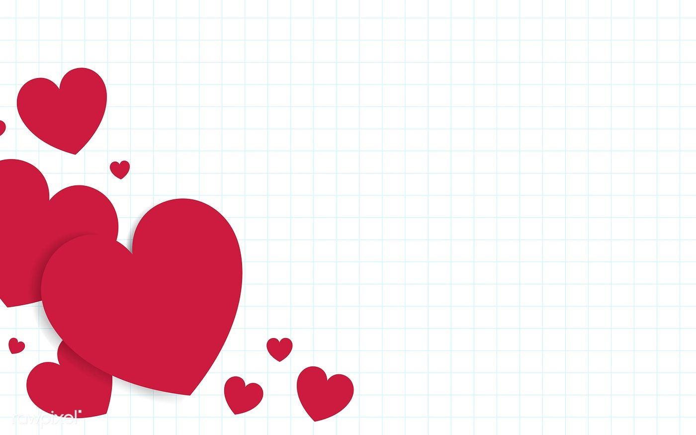 Red Hearts Background Design Vector Free Image By Rawpixel Com Kappy Kappy Background Design Vector Pink Heart Background Heart Background
