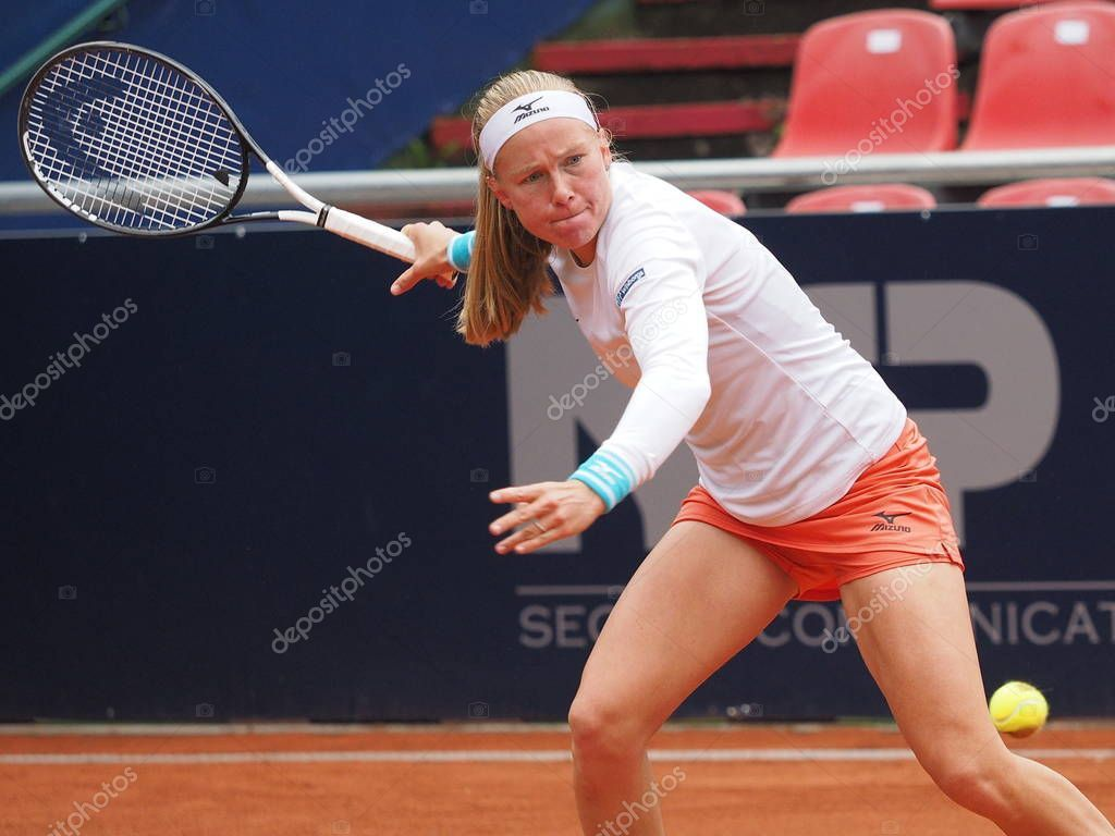 Nuremberg Germany May 2019 Swedish Player Johanna Larsson Euro 250 Stoc Sponsored Swedish Player Nuremberg Germany Ad