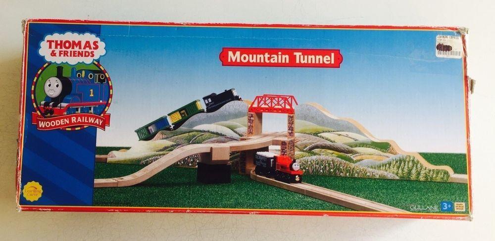 Thomas Wooden Railway Mountain Tunnel Set Wooden Thing