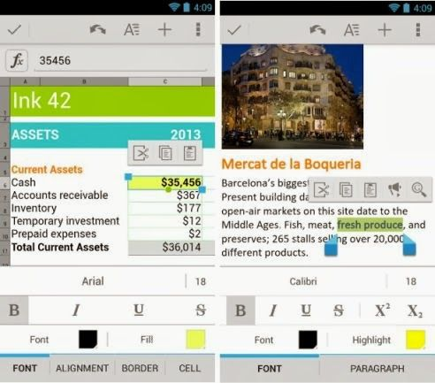 Google Quickoffice for Android and iOS Now Available for