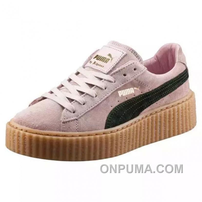 rihanna puma shoes pink