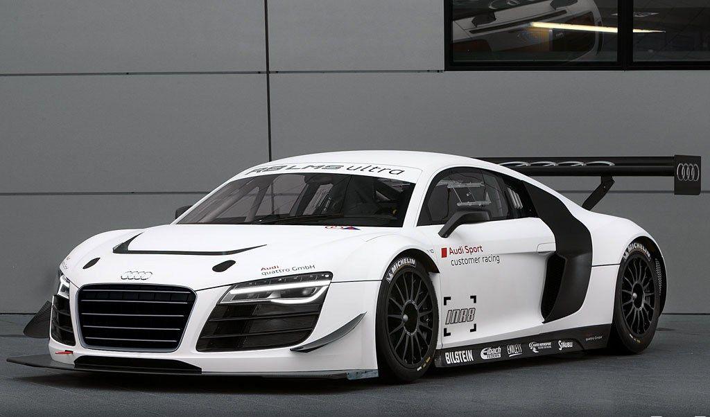 Audi R8 Gt3 Lms Ultra Carbon Fiber Body Kit