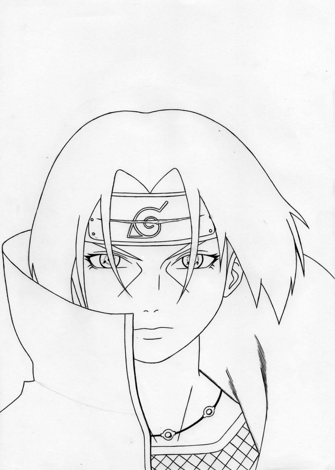 Naruto Shippuden Para Desenhar Avara C Desenhos Para Colorir