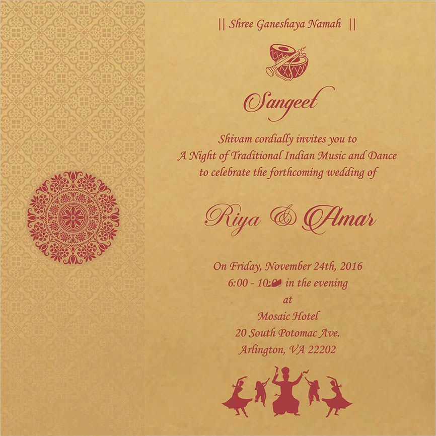 wedding invitation wording for sangeet ceremony weddinginvitationwording