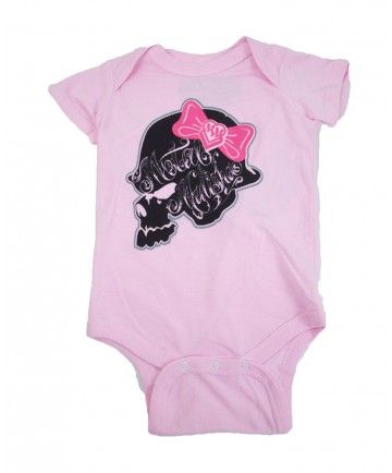7b62318e9 Metal Mulisha Girls Bopeep Onesie Baby (Baby Light Pink):: For Hubbins