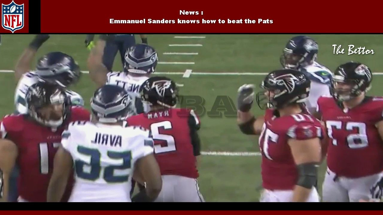 Seattle Seahawks Vs Atlanta Falcons 20 36 Full Highlights Nfc Play O Emmanuel Sanders Football Helmets Nfl Football