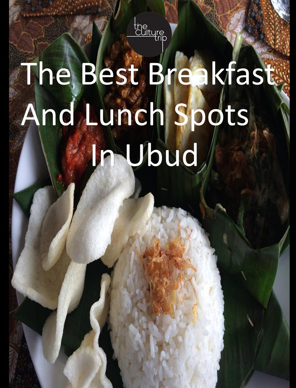 The Best Brunch Spots In Ubud Bali Best Breakfast Brunch Spots Ubud