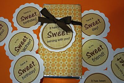 Sweet Gift Labels Six Different Sayings Using The Word Sweet