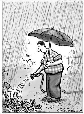 Humor by Tori Lisi | Gardening humor, Rainy day fun