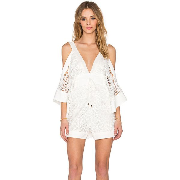 eb7d351e53e Alice McCall Keep Me There Romper Rompers ( 272) ❤ liked on Polyvore  featuring jumpsuits
