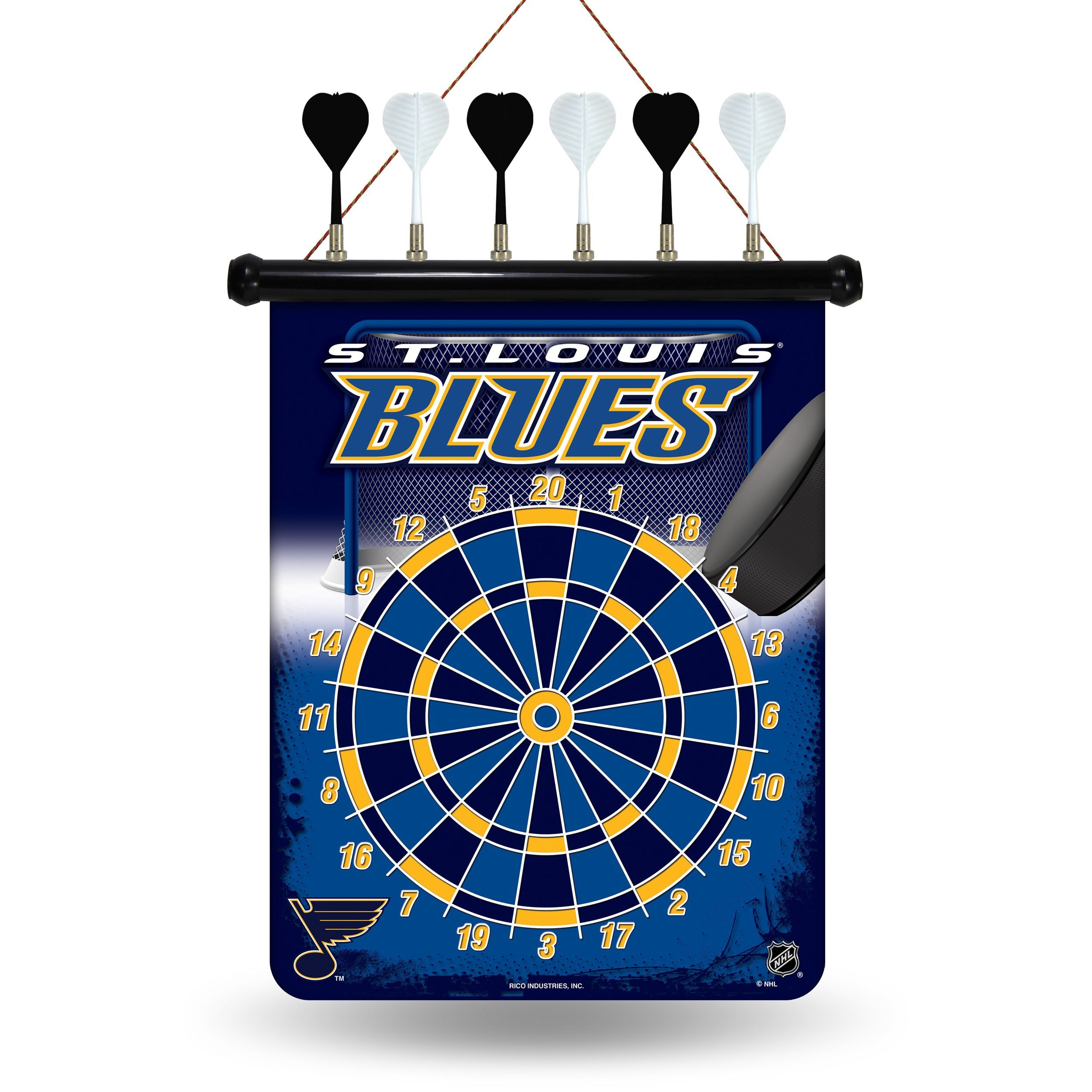 Rico industries st louis blues magnetic dart set products