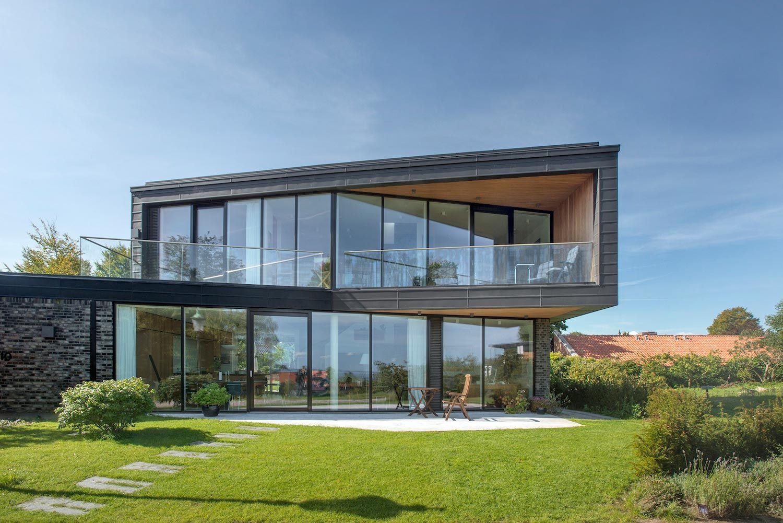 Architettura Case Moderne Idee modern villa u in aarhus denmark by c.f. møller - caandesign